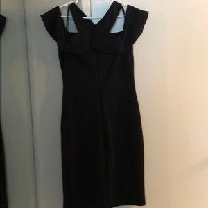 RACHEL Rachel Roy Dresses - Black Cold Shoulder Dress